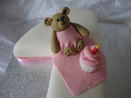 Teddy Bear Birthday Cake Kent